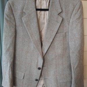 Burberry Men's Camel Hair Blazer SuitJacket Sz 40